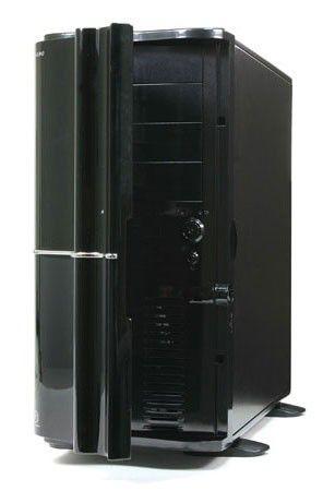 Корпус ATX THERMALTAKE Soprano VB1000BNS, Midi-Tower, без БП,  черный