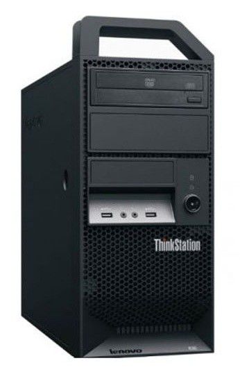 Рабочая станция  LENOVO ThinkStation E30,  Intel  Xeon  E3-1230,  DDR3 4Гб, 500Гб,  nVIDIA Quadro 400 - 512 Мб,  DVD-RW,  Windows 7 Professional,  черный [7783ps5]