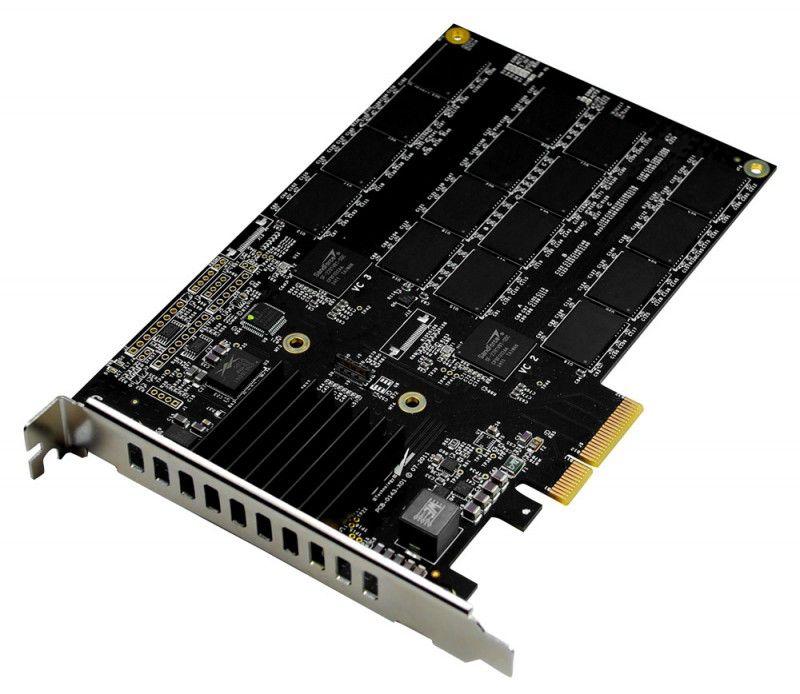 SSD накопитель OCZ RevoDrive 3 Max IOPS RVD3MI-FHPX4-120G 120Гб, PCI-E AIC (add-in-card), PCI-E x4