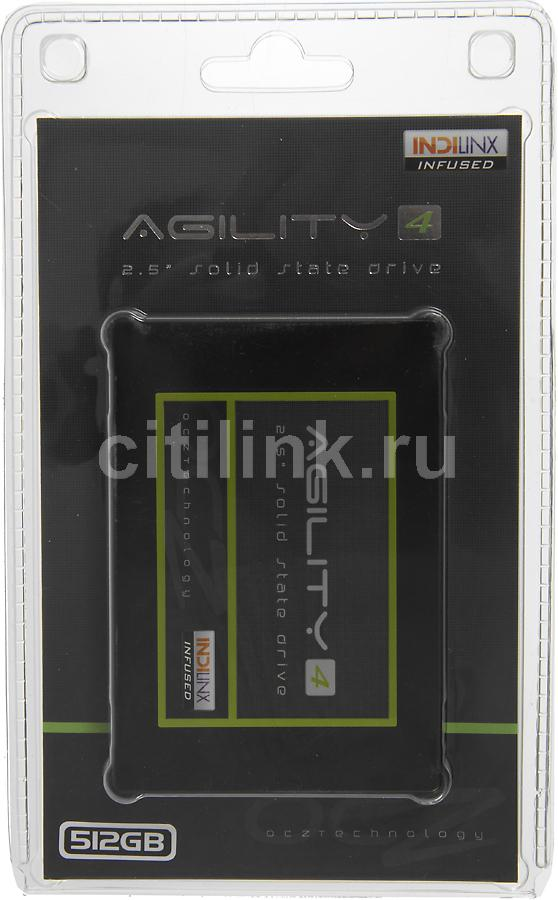 SSD накопитель OCZ Agility 4 AGT4-25SAT3-512G 512Гб, 2.5