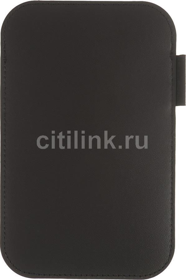 Чехол (футляр) SAMSUNG EF-C968L, для Samsung Galaxy S, черный [ef-c968lbecstd]
