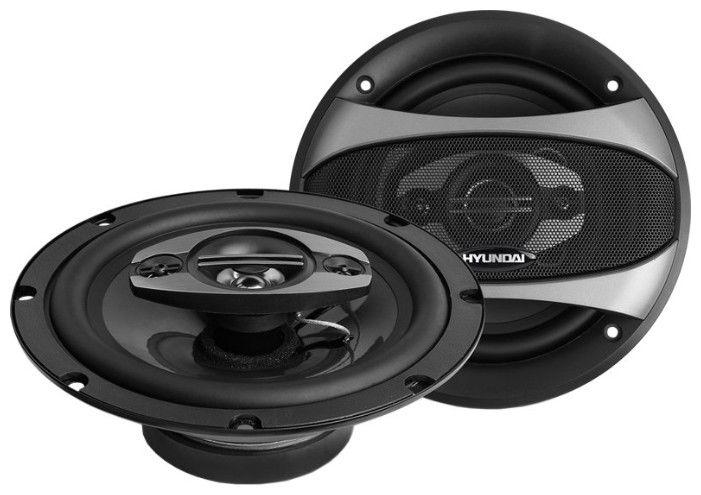 Колонки автомобильные HYUNDAI H-CSQ604,  коаксиальные,  180Вт