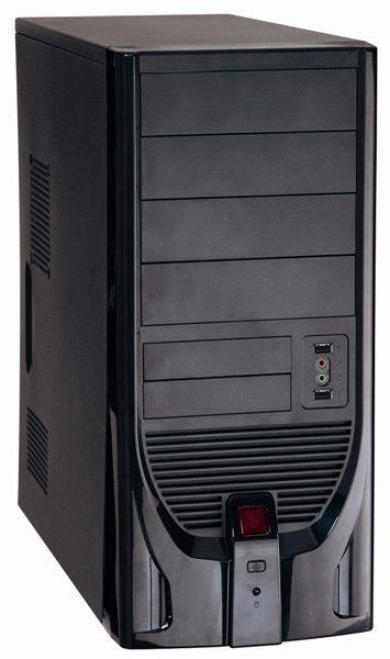 Корпус ATX FOXCONN TSAA-841, 350Вт,  черный