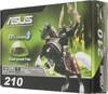 Видеокарта ASUS GeForce 210,  210-1GD3-L,  1Гб, DDR3, Low Profile,  Ret вид 6