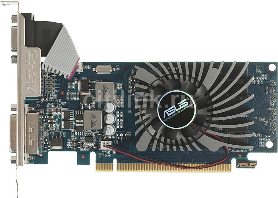 Видеокарта ASUS GeForce GT 610,  GT610-1GD3-L,  1Гб, DDR3, Low Profile,  Ret