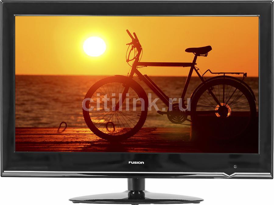 "LED телевизор FUSION FLTV-24T9  ""R"", 23.6"", FULL HD (1080p),  черный"