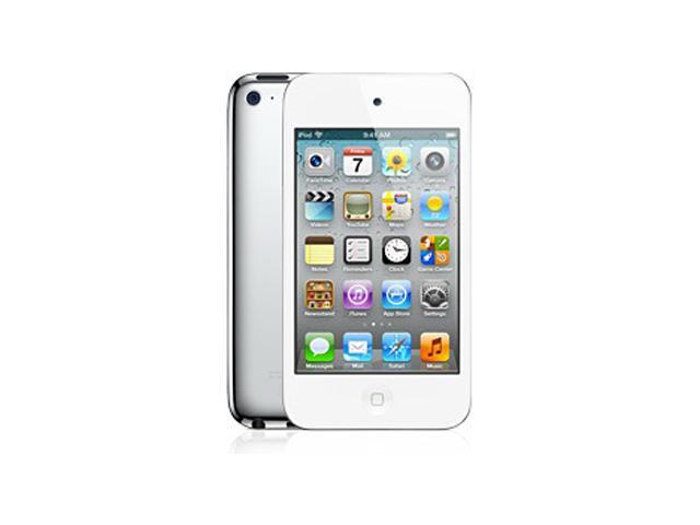 MP3 плеер APPLE iPod touch 4 flash 32Гб белый [md058]