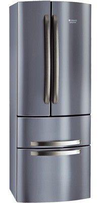 Холодильник HOTPOINT-ARISTON 4D X,  трехкамерный,  серебристый