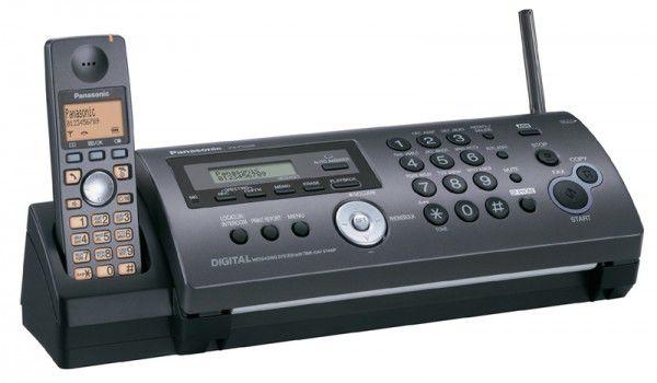 Факс PANASONIC KX-FC228RUT,  на основе термопереноса,  серый