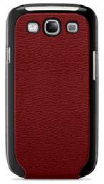 Чехол (флип-кейс) BELKIN F8M397cwC02, для Samsung Galaxy S III, красный