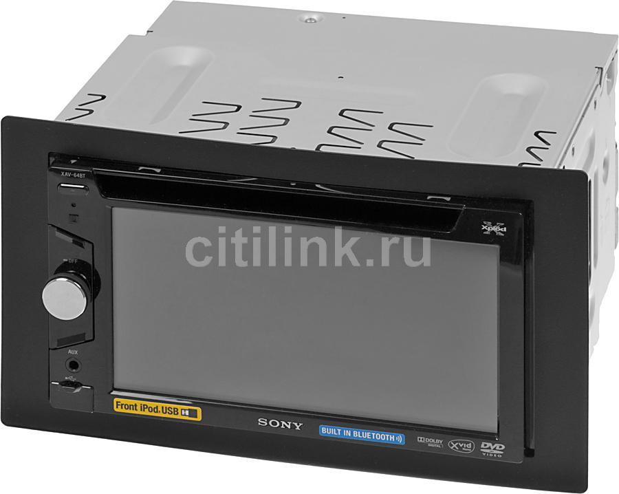 Автомагнитола SONY XAV-64BT,  USB