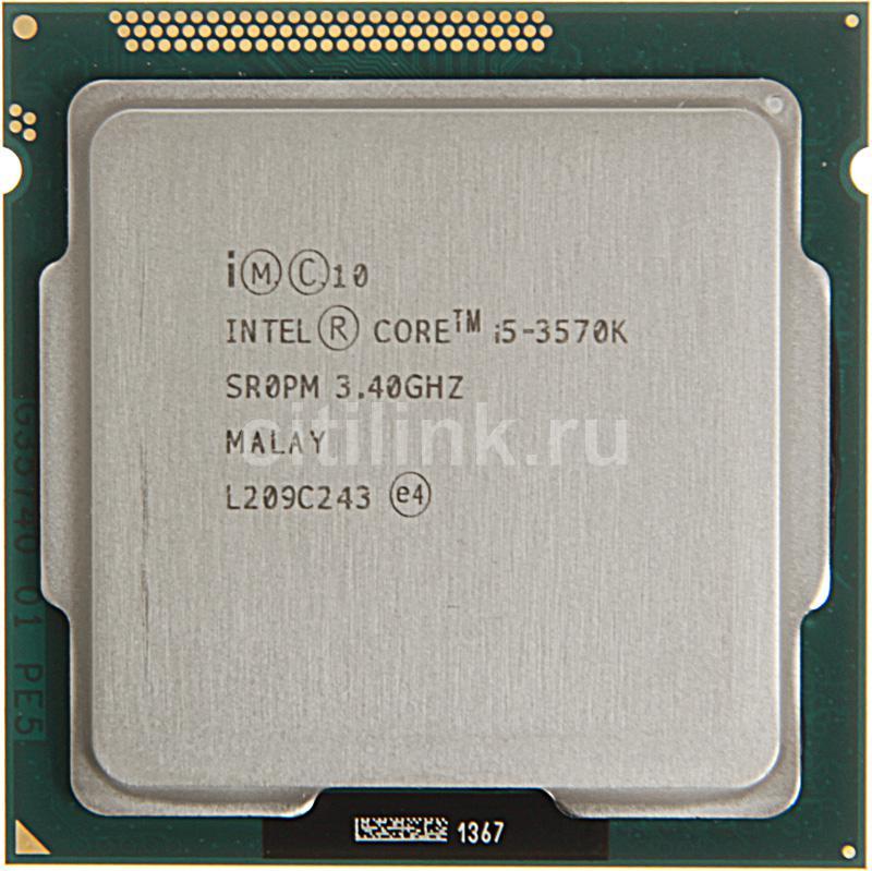 Процессор INTEL Core i5 3570K, LGA 1155 OEM /661420/ [cpu intel lga1155 i5-3570k oem]