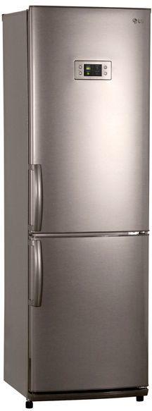 Холодильник LG GA-B409ULQA,  двухкамерный,  серебристый