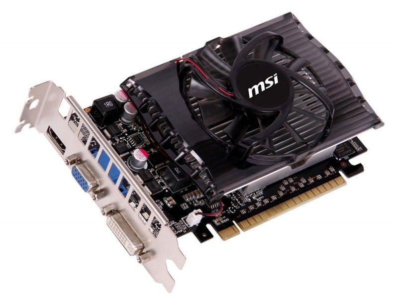 Видеокарта MSI nVidia  GeForce GT 630 ,  2Гб, DDR3, oem [n630gt-md2gd3 bulk]