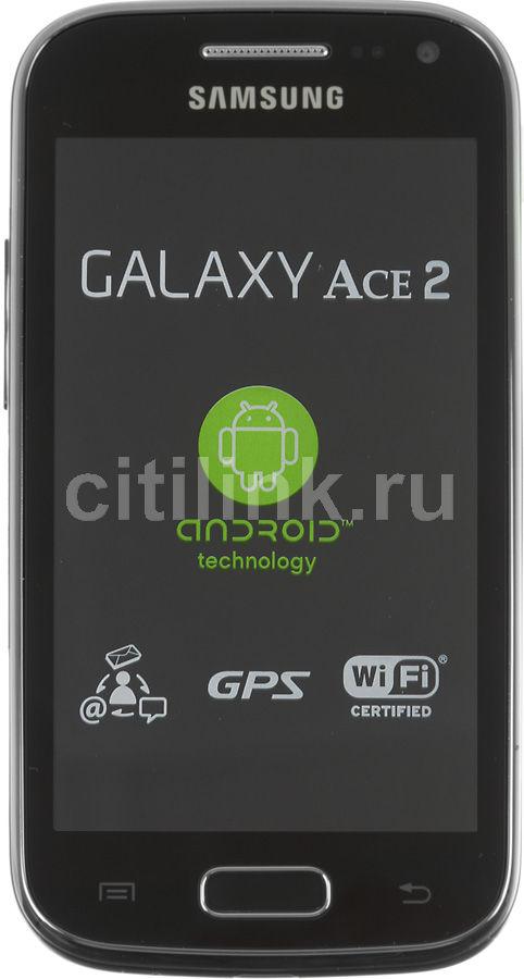 Смартфон SAMSUNG Galaxy Ace 2 GT-I8160  черный