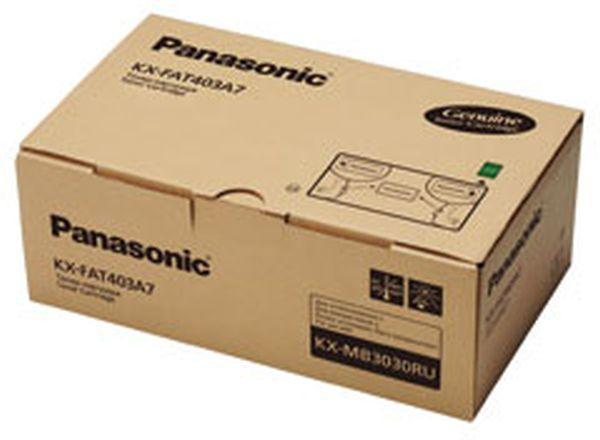Картридж PANASONIC KX-FAT403A7 черный