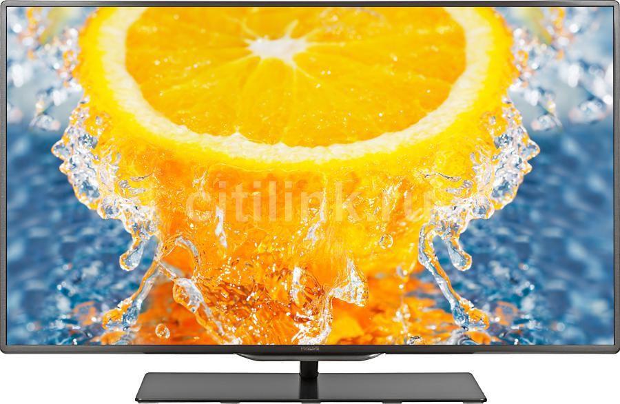 "LED телевизор PHILIPS 40PFL8007T/12  40"", 3D,  FULL HD (1080p),  серый-металлик"