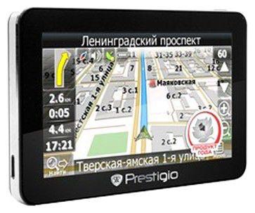 GPS навигатор PRESTIGIO GeoVision 4700,  4.3