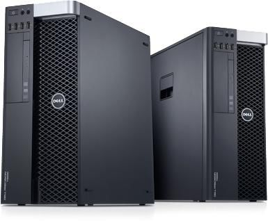 Рабочая станция  DELL Precision T3600,  Intel  Xeon  E5-1603,  DDR3 4Гб, 500Гб +  500Гб,  AMD FirePro V7900 - 2048 Мб,  DVD-RW,  Windows 7 Professional,  черный и серебристый [210-39350]