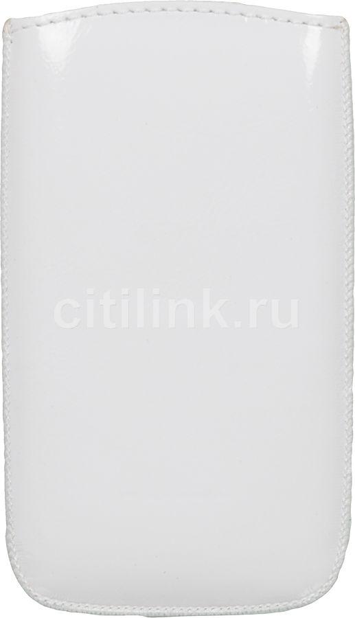 Чехол (футляр) DEPPA Prime Classic, для Sony Xperia U, белый (лак) [69]