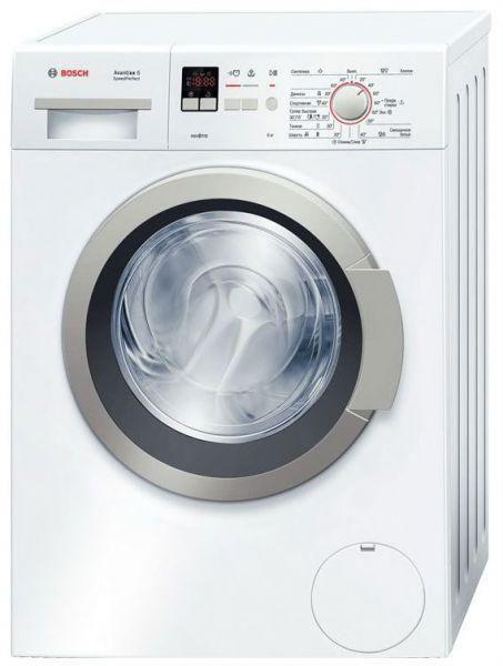 Стиральная машина BOSCH WLO20140OE, фронтальная загрузка,  белый