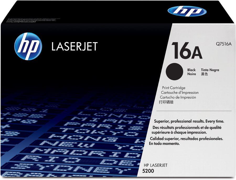 Картридж HP 16A черный [q7516a]