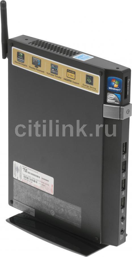Неттоп  ASUS EeeBox PC EB1033,  Intel  Atom  D2550,  DDR3 2Гб, 320Гб,  nVIDIA GeForce GT610M,  CR,  Windows 7 Home Premium,  черный [90pe2ha12121e6399c0q]