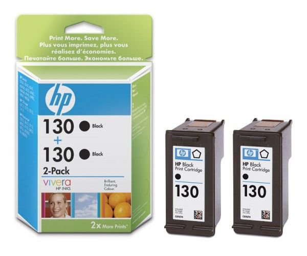 Двойная упаковка картриджей HP C9504HE черный