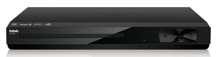 DVD-плеер BBK DVP159SI,  черный [(dvd) player dvp159si б/д чер]