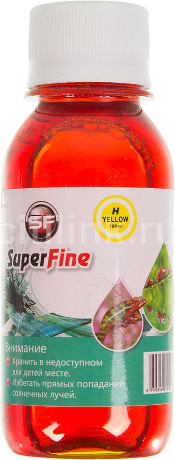 Чернила  SuperFine, для HP, 100мл, желтый