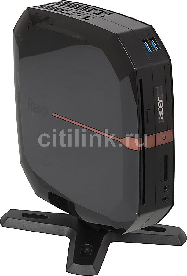 Неттоп  ACER Revo RL80,  Intel  Core i3  2377M,  DDR3 4Гб, 1000Гб,  Intel HD Graphics 3000,  DVD-RW,  CR,  Windows 8,  черный [dt.sm4er.001]