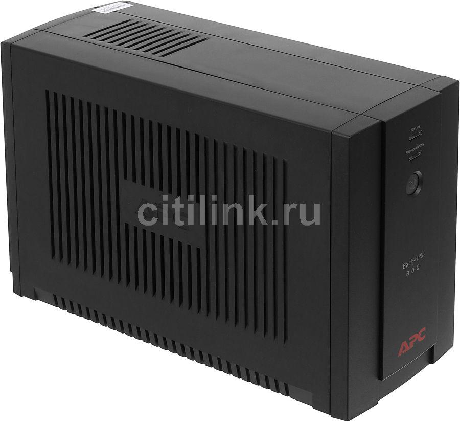 Источник бесперебойного питания APC Back-UPS BX800CI-RS,  800ВA