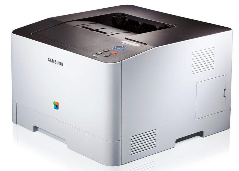 Принтер SAMSUNG CLP-415NW лазерный, цвет:  белый [clp-415nw/xev]