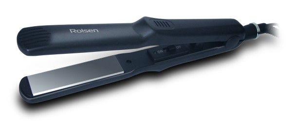 Выпрямитель для волос ROLSEN HS3813C,  черный
