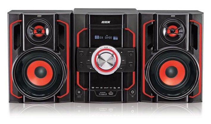 Музыкальный центр BBK AMS303U,  черный