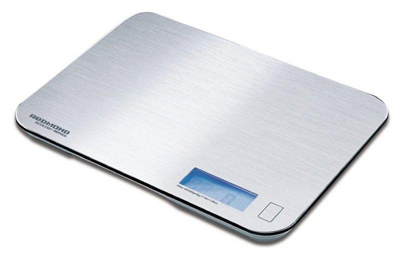 Весы кухонные REDMOND RS-M718,  серебристый