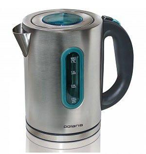 Чайник электрический POLARIS PWK1780CA, 2200Вт, серебристый