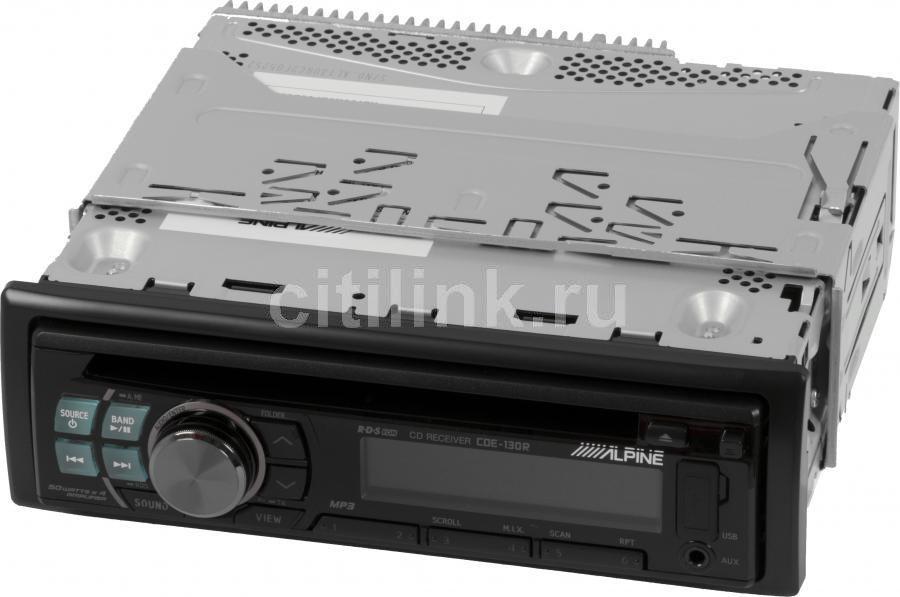 Автомагнитола ALPINE CDE-130R,  USB