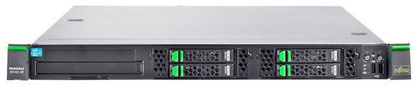 Сервер Fujitsu PRIMERGY RX100S7p 1xE3-1220 2x4Gb 1x500Gb 7.2K 3.5
