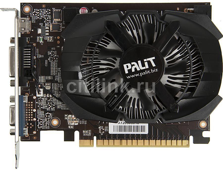 Видеокарта PALIT nVidia  GeForce GTX 650 ,  NE5X65001341-107XF,  2Гб, GDDR5, Ret