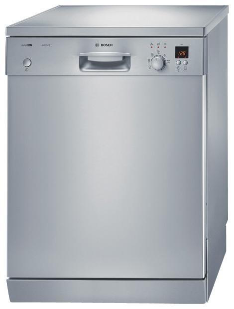 Посудомоечная машина BOSCH SGS56E48RU,  полноразмерная, серебристая