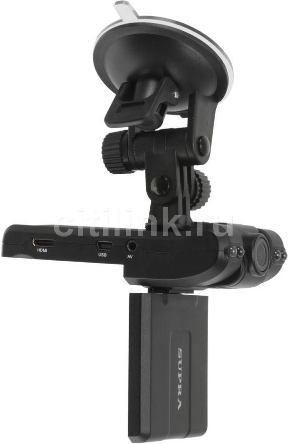 Видеорегистратор SUPRA SCR-750 черный