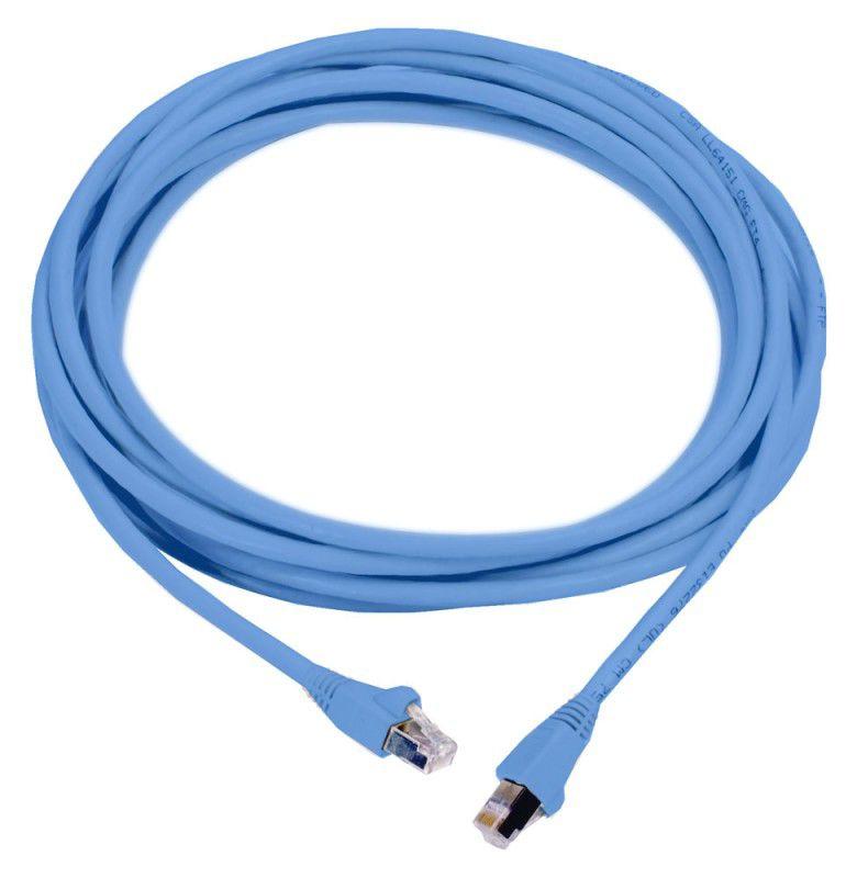 Патч-корд MOLEX PCD-00304-0H литой (molded), FTP, cat.6, 0.5м, 4 пары, 26AWG,  1 шт,  синий