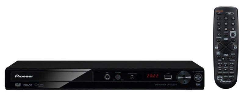 DVD-плеер PIONEER DV-2022K,  черный