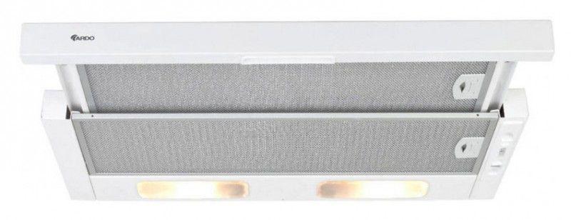 Вытяжка встраиваемая Ardo S4 50 белый управление: ползунковое (1 мотор) [s450white]