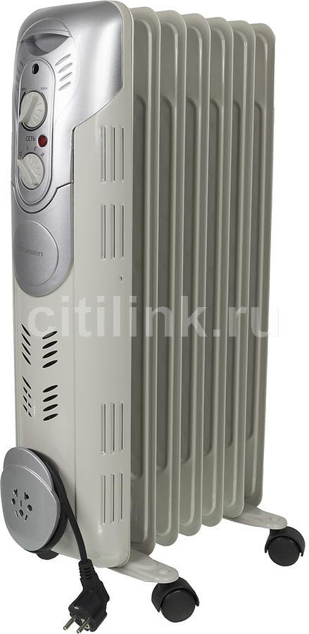 Масляный радиатор ROLSEN ROH-D7, 1500Вт, белый