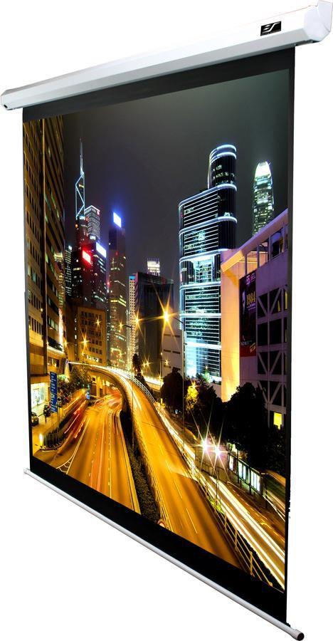 Экран ELITE SCREENS Spectrum Electric100V,  203х152 см, 4:3,  настенно-потолочный белый