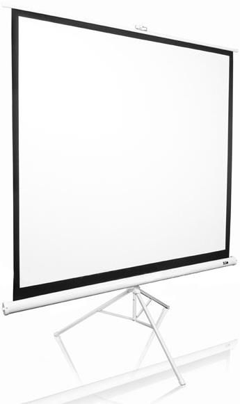 Экран ELITE SCREENS Tripod T120NWV1,  244х183 см, 4:3,  напольный белый