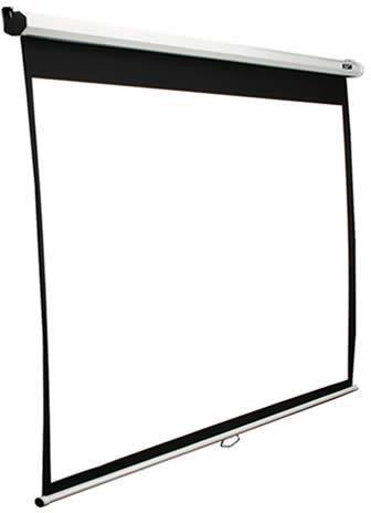 Экран ELITE SCREENS Manual M150XWH2,  332х187 см, 16:9,  настенно-потолочный белый