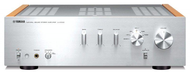 Интегральный усилитель YAMAHA A-S1000,  серебристый